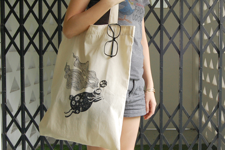 Oh&Ah Tote Bags